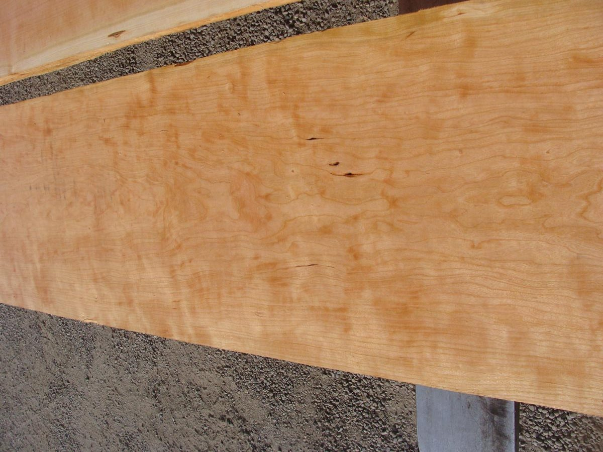 figured cherry matched set, wide figured cherry, premium lumber