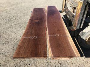5/4 walnut table top set