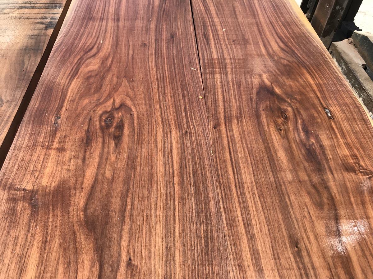 4/4 walnut matched set