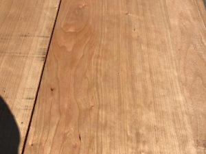 cherry lumber, wide cherry, hardwood tops