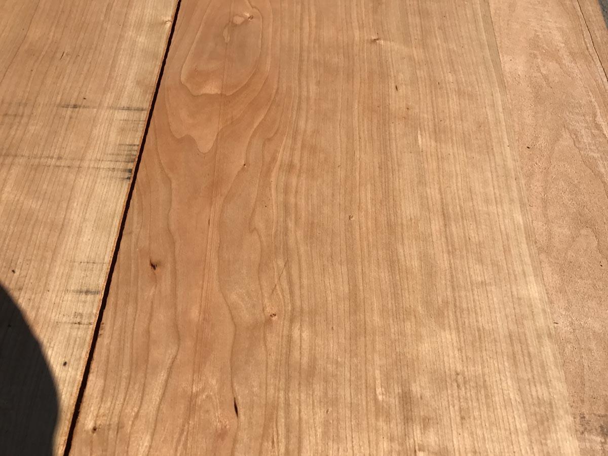 cherry lumber, wide cherry, hardwood tops