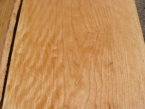 ropey curly cherry, hardwood tops, premium lumber