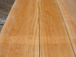 premium lumber, high quality curly cherry, curly cherry matched set