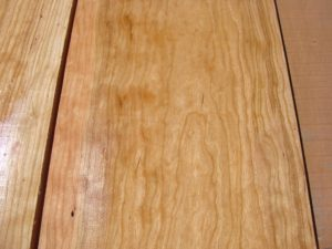 wide curly cherry, hardwood tops, wooden tops, high quality curly cherry