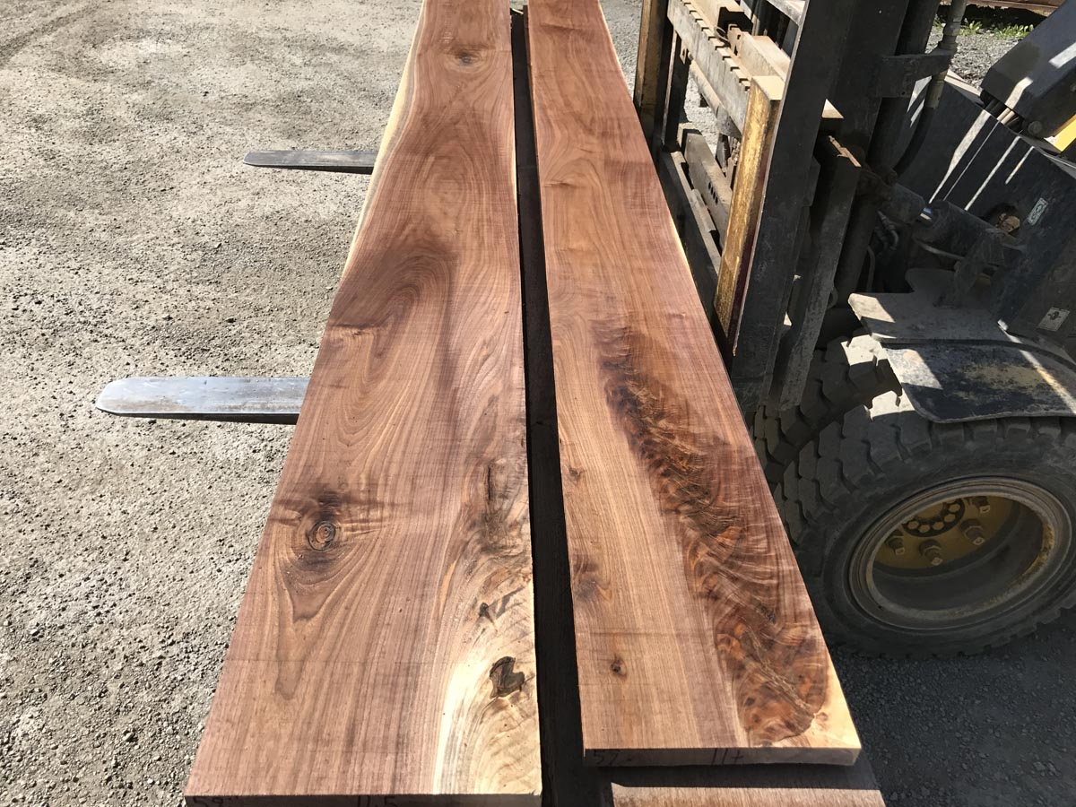 5/4 walnut matched set