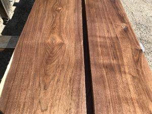 long walnut matched set