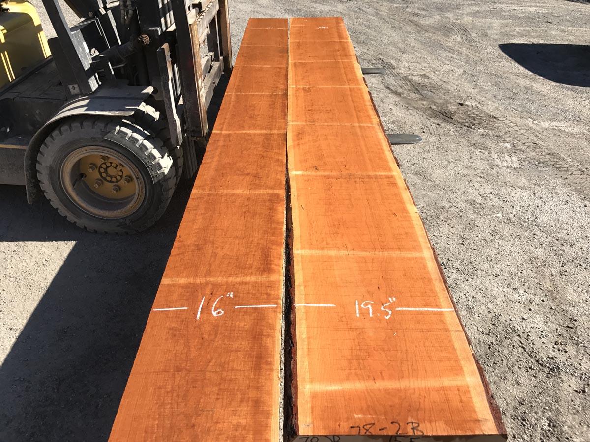 heavy cherry tabletop set