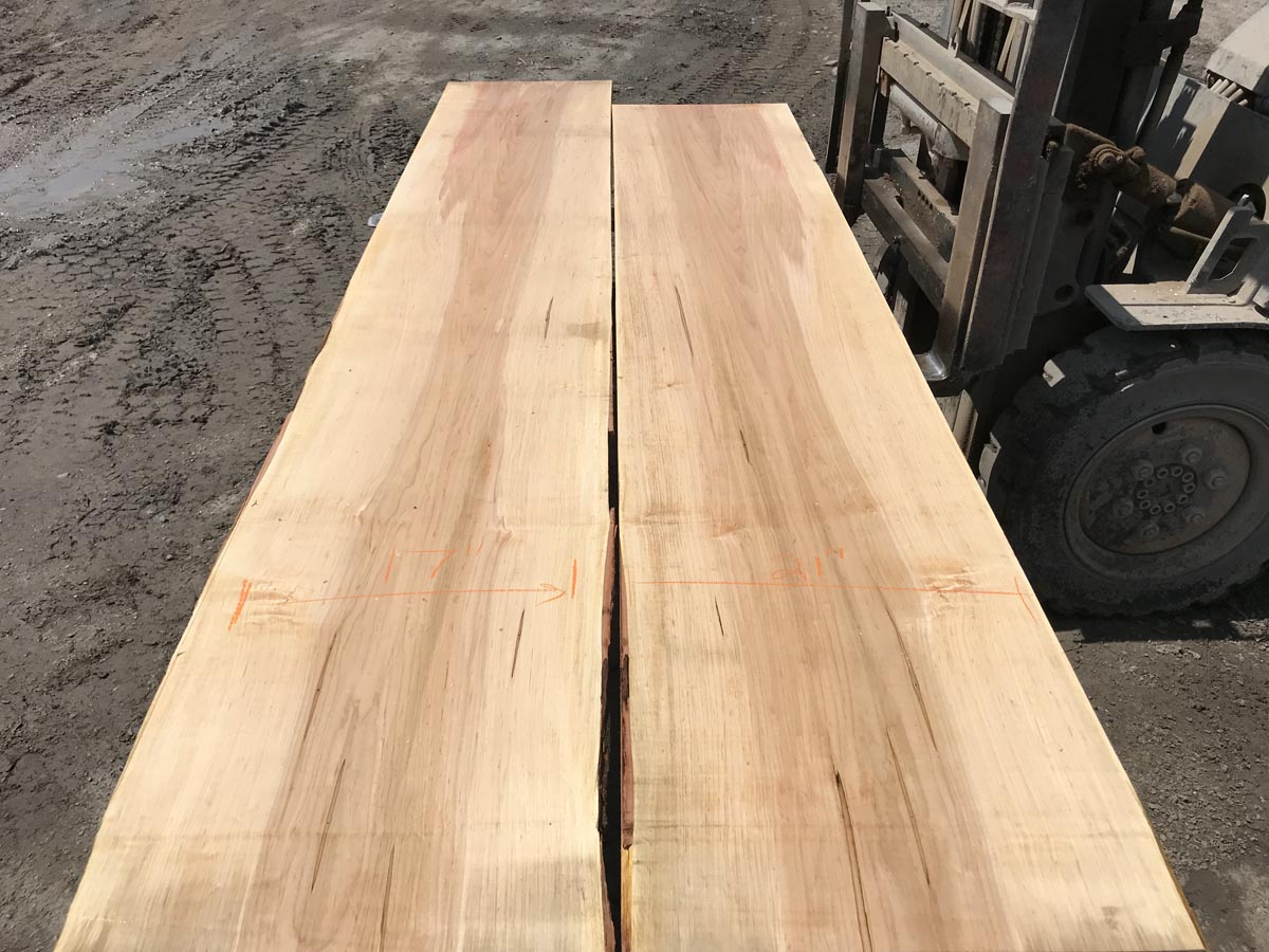 soft maple table top set