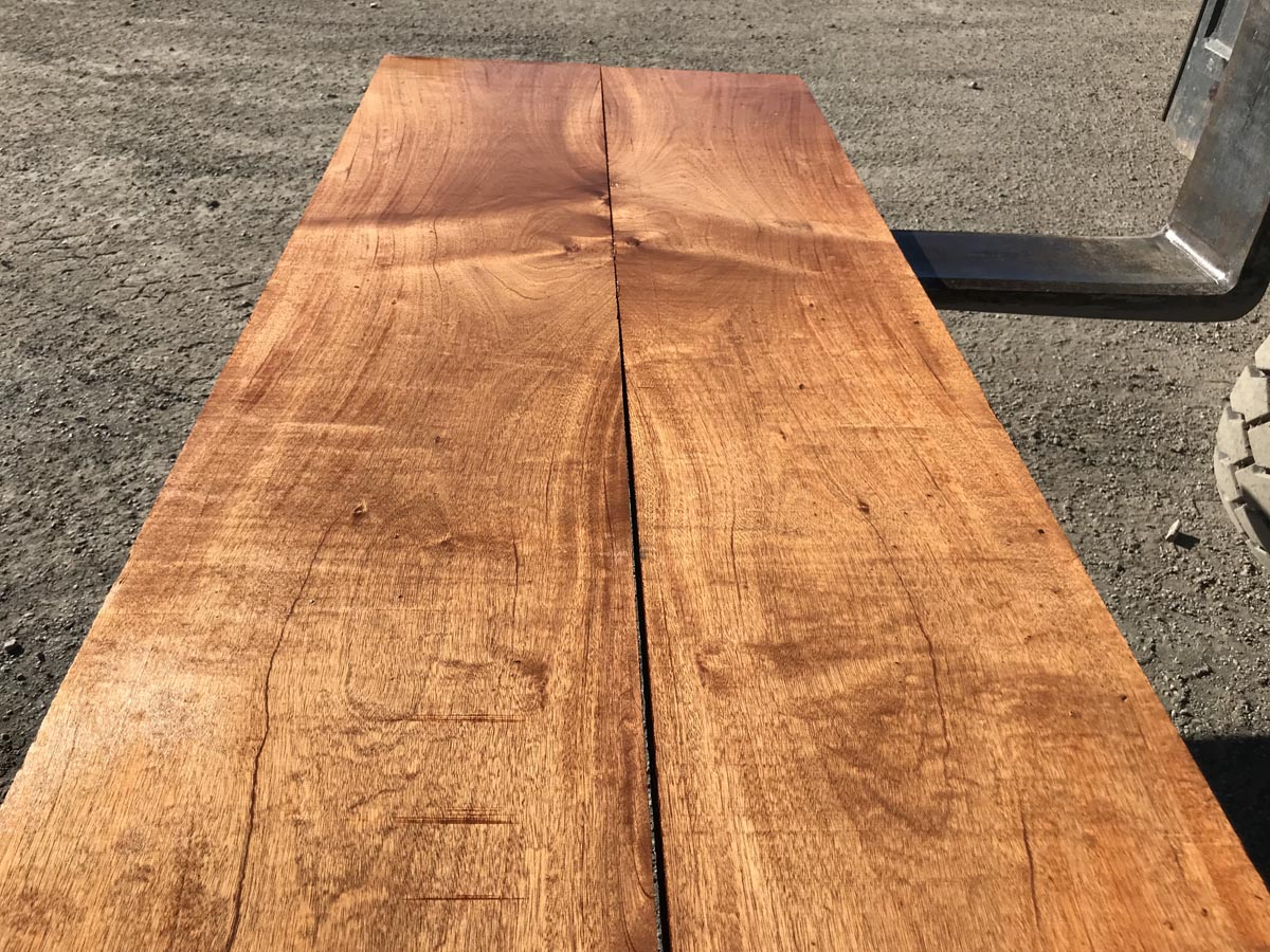 wide clear genuine mahogany