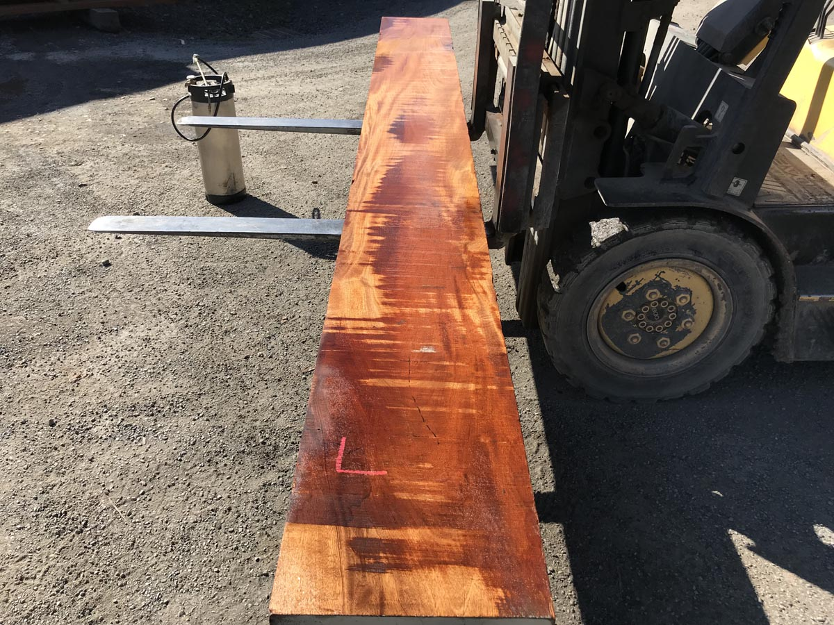 heavy wide genuine mahogany