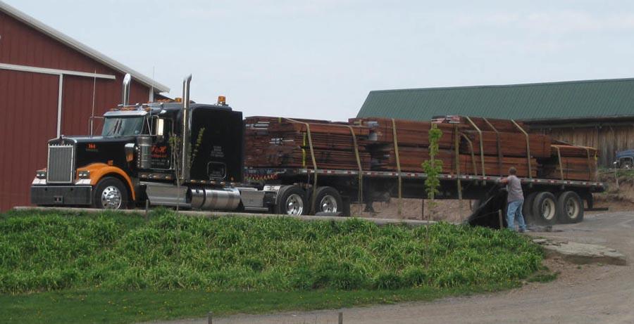 Truck Load of Mahogany