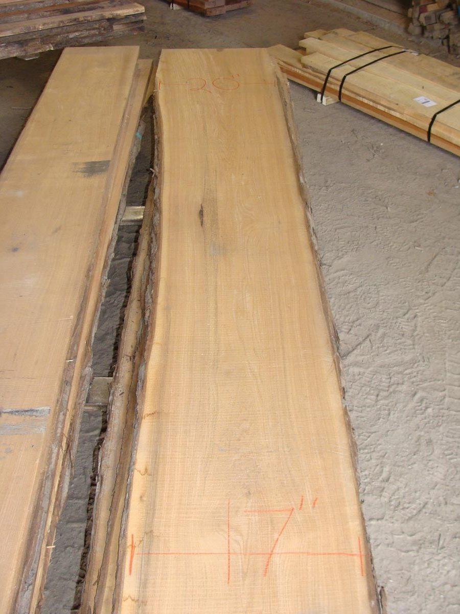 wide butternut lumber, wooden tops, tabletops