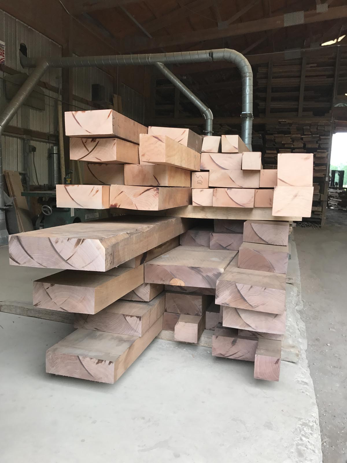 Heavy Stock Lumber