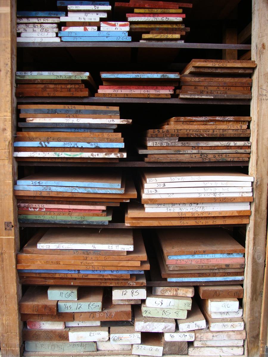 Mahogany Boards - Irion Lumber Company