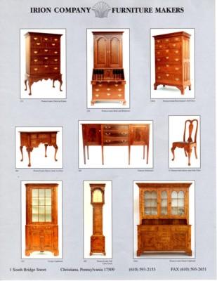 Irion Furniture Lumber Company