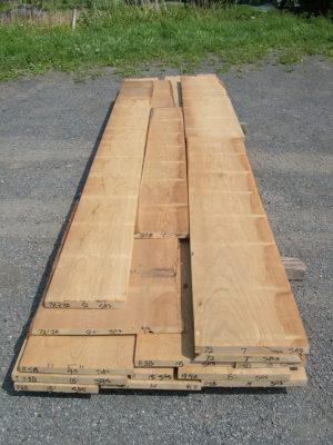 Sassafrass Lumber Boards