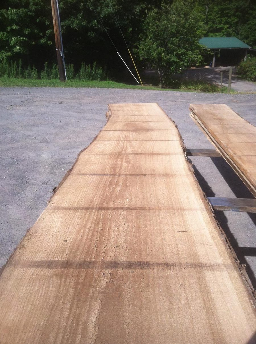 wide butternut lumber, wooden tops, tabletops