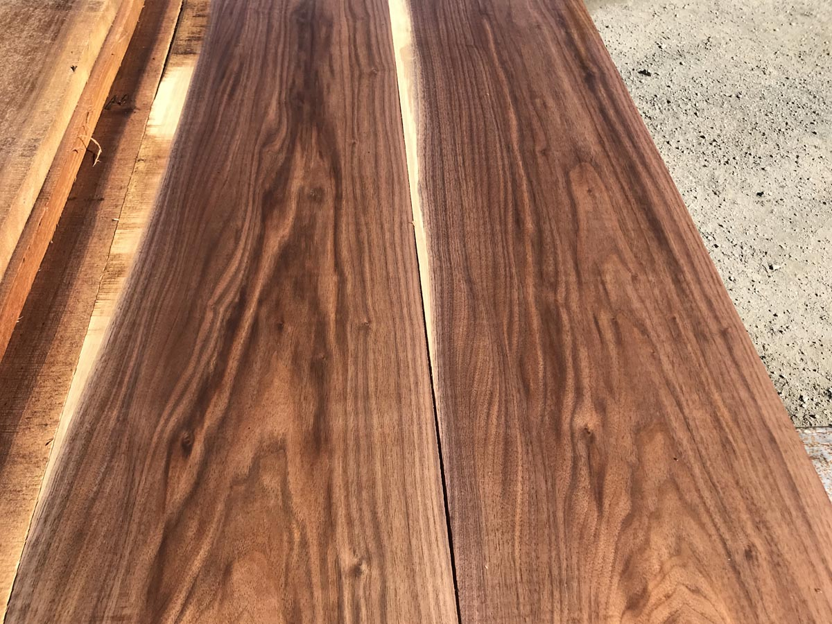wooden tabletops, hardwood tabletops, walnut