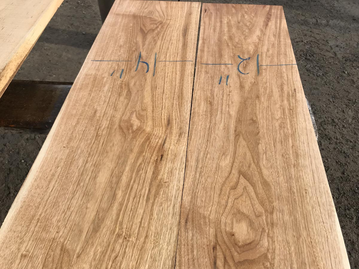 wooden tops, hardwood tops, butternut