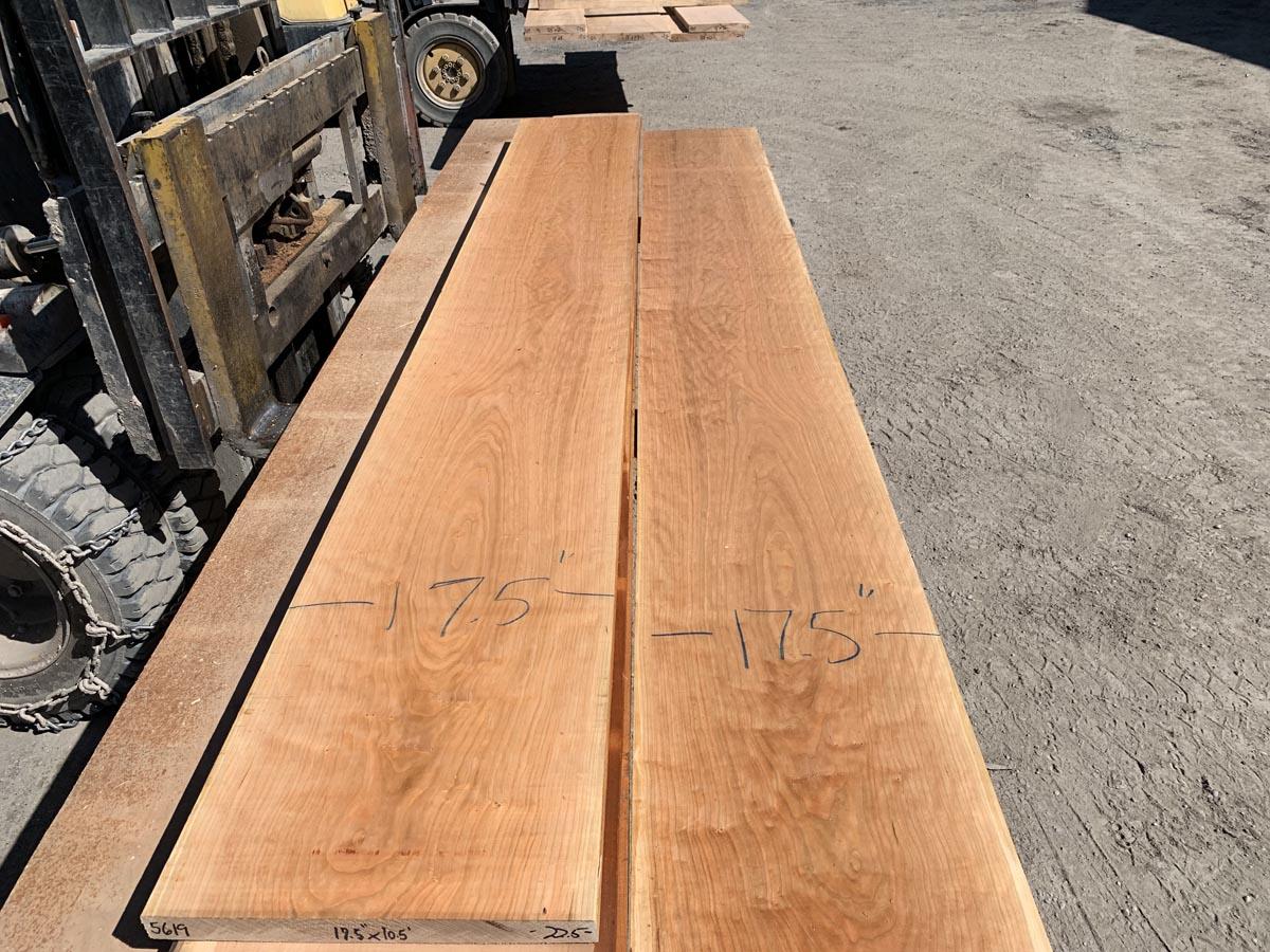 custom hardwood, wide lumber, curly cherry