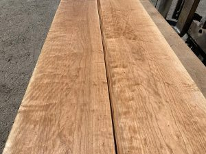 custom hardwood, wide lumber, curly cherry