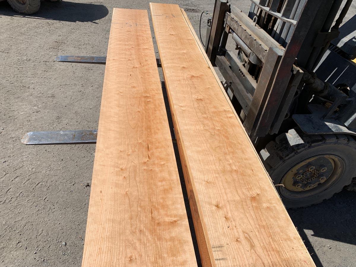 custom hardwood, premium lumber, curly cherry