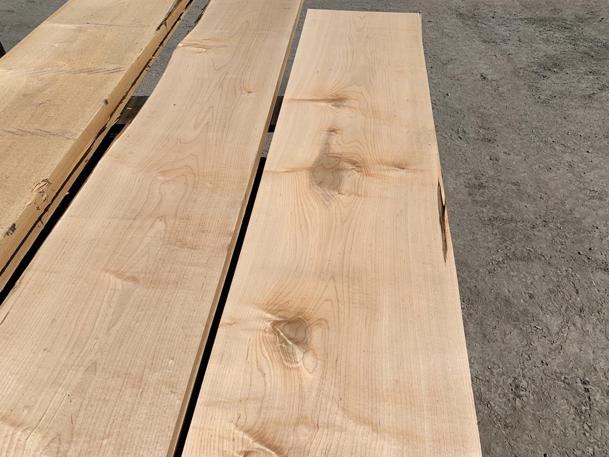 custom hardwoods, wide lumber, soft maple