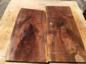 door panels, drawer panels, walnut crotches