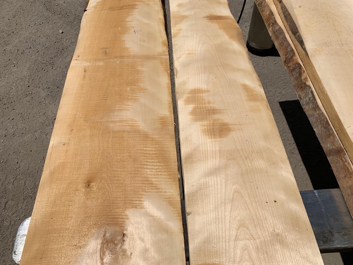 bar tops, wooden tops, flame birch