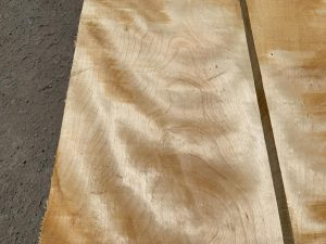 wooden tops, hardwood tops, flame birch