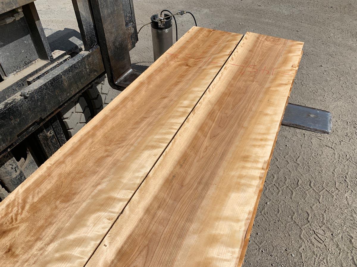 wooden tops, hardwood lumber, wide flame birch