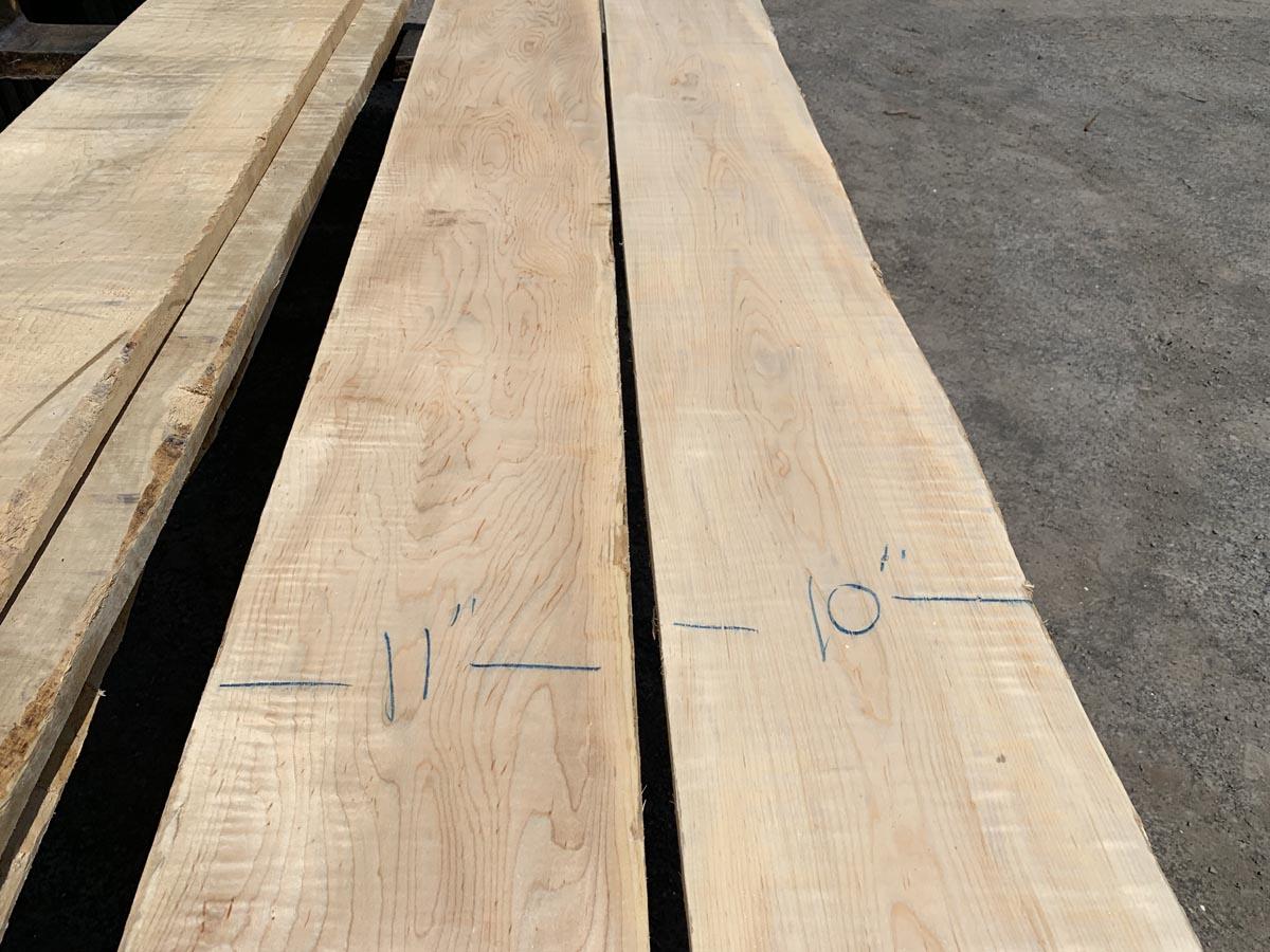 custom hardwood, matched set, tiger maple
