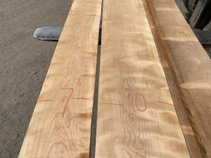 Premium lumber, wooden tops, curly birch