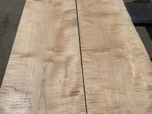 wooden tops, hardwood lumber, tiger maple