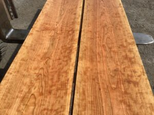 wide curly cherry, premium lumber, wooden top