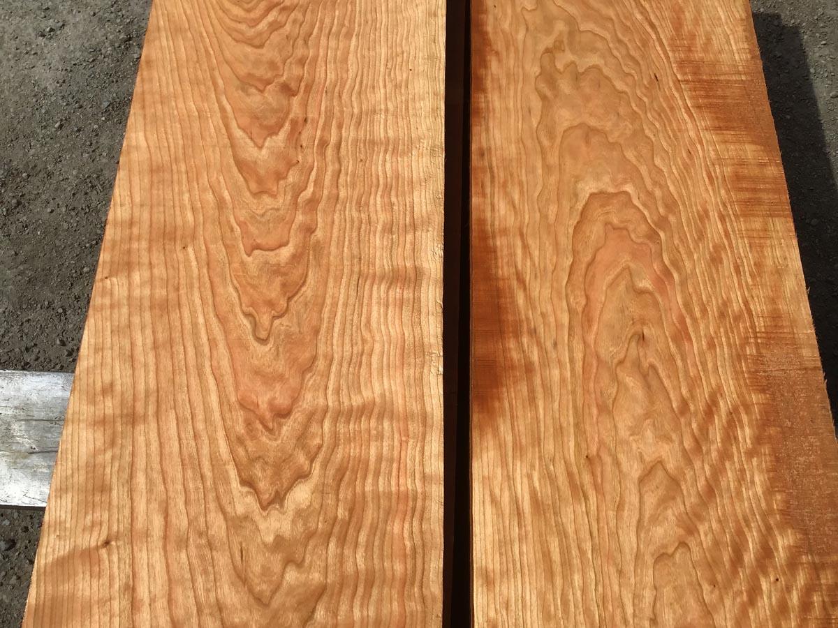 premium lumber, wooden tops, curly cherry