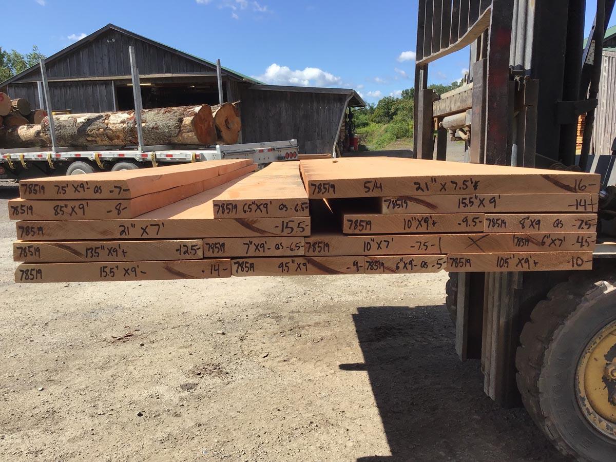 wooden tops, hardwood tops, quarter sawn cherry