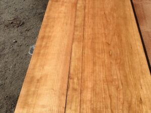 wooden tops, hardwood tops, quarter sawn cherry