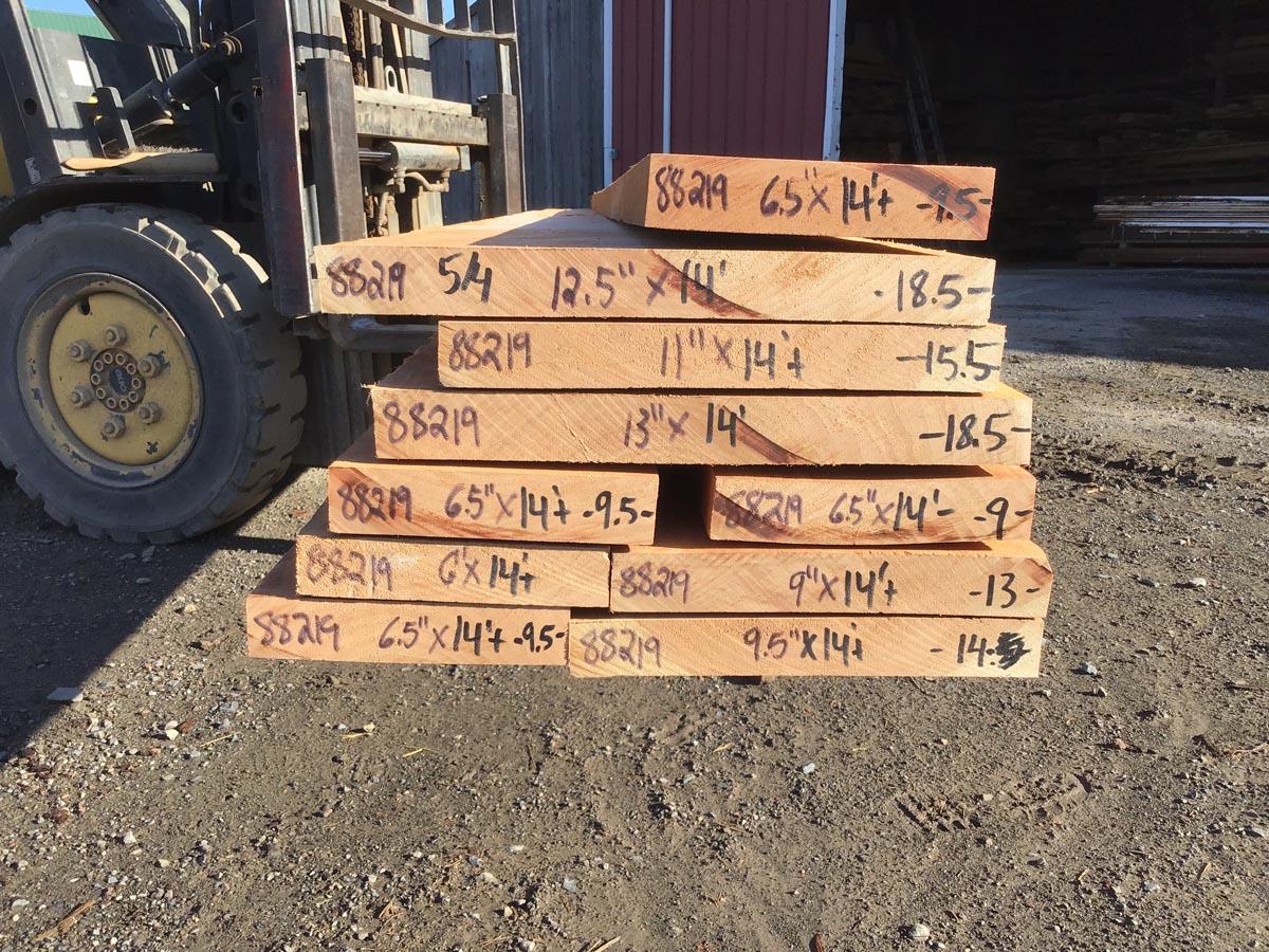 wooden tops, hardwood lumber, curly cherry