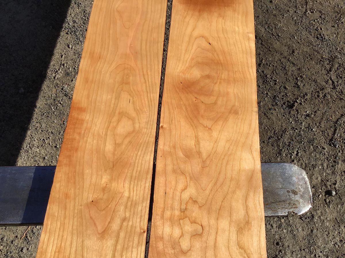 long lumber, 5/4 cherry, wooden tops