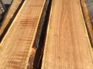 live edge cherry matched set, wooden tops, tabletops