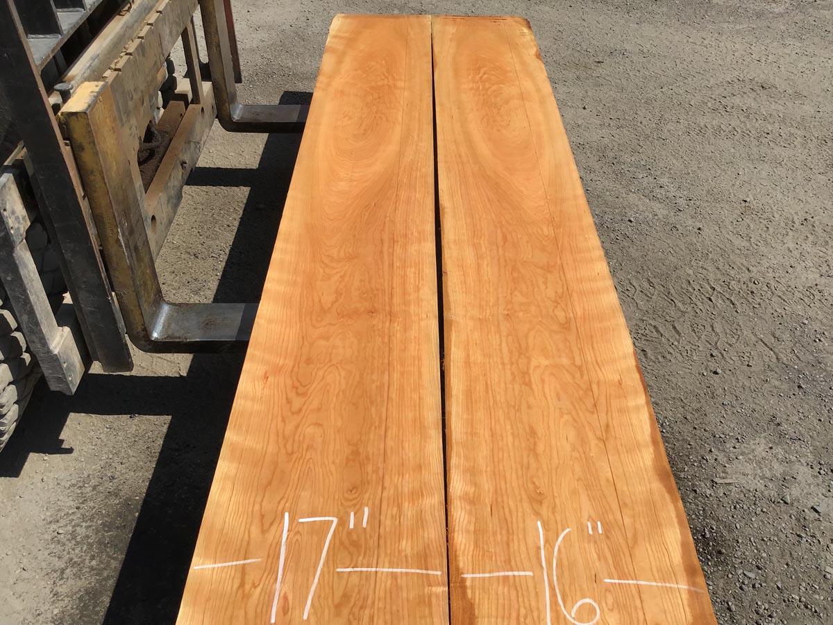 wooden tops, premium lumber, wide cherry