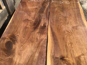 wooden tops, hardwood tops, wide figured walnut
