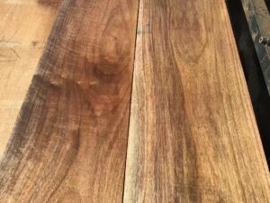 wooden tops, hardwood tops, wide walnut