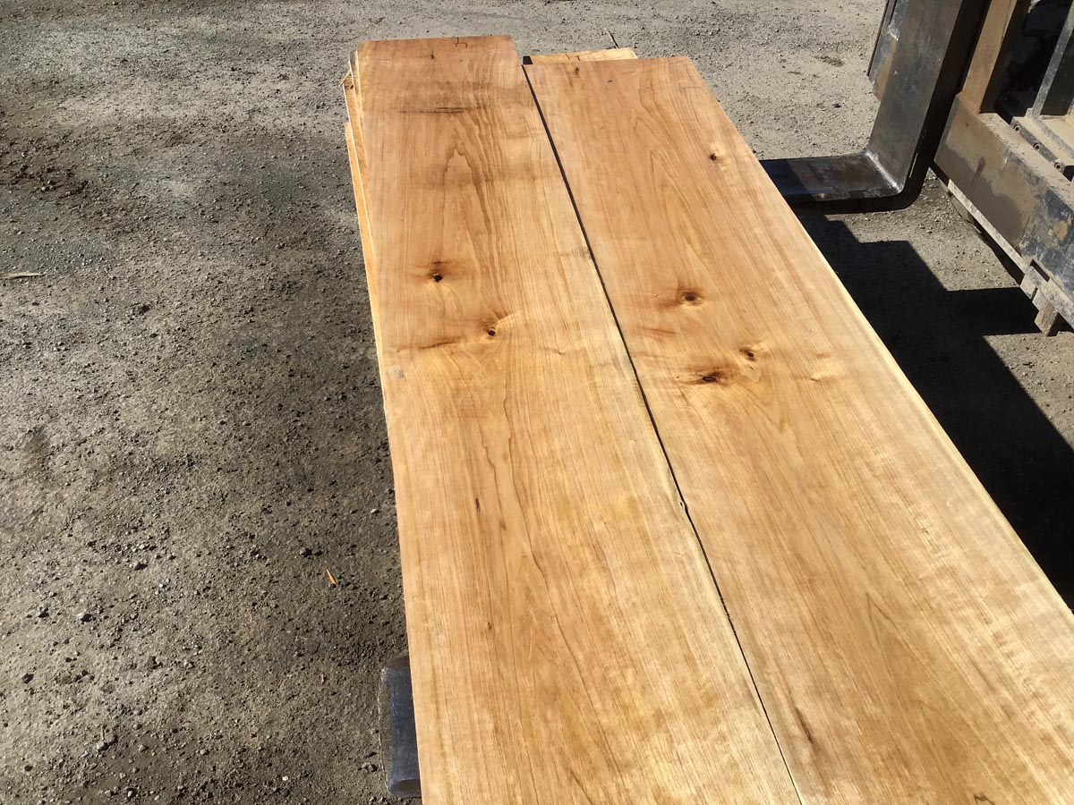 wooden tops, hardwood tops, butternut