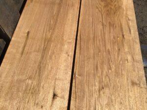 wooden tops, hardwood tops, wide butternut