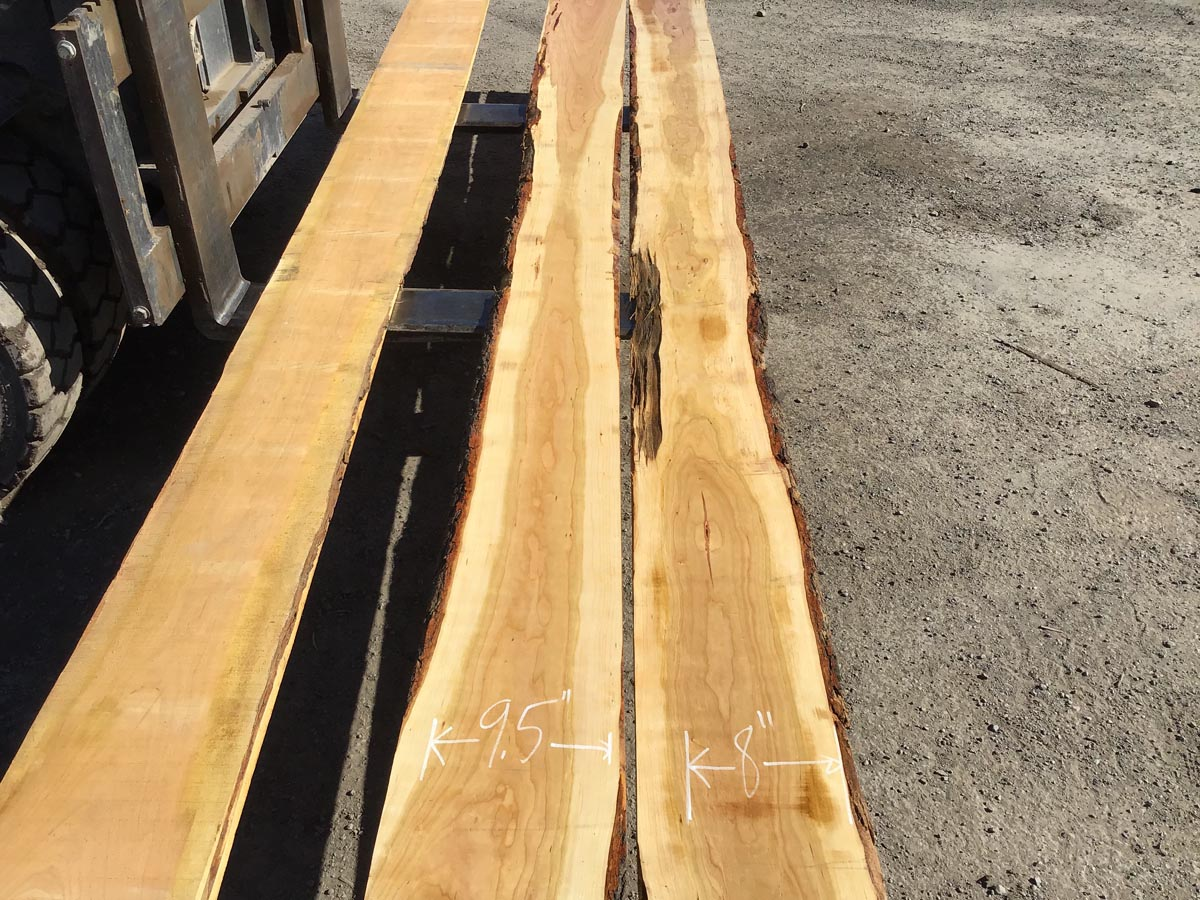 long calico cherry, wooden tops, hardwood tops
