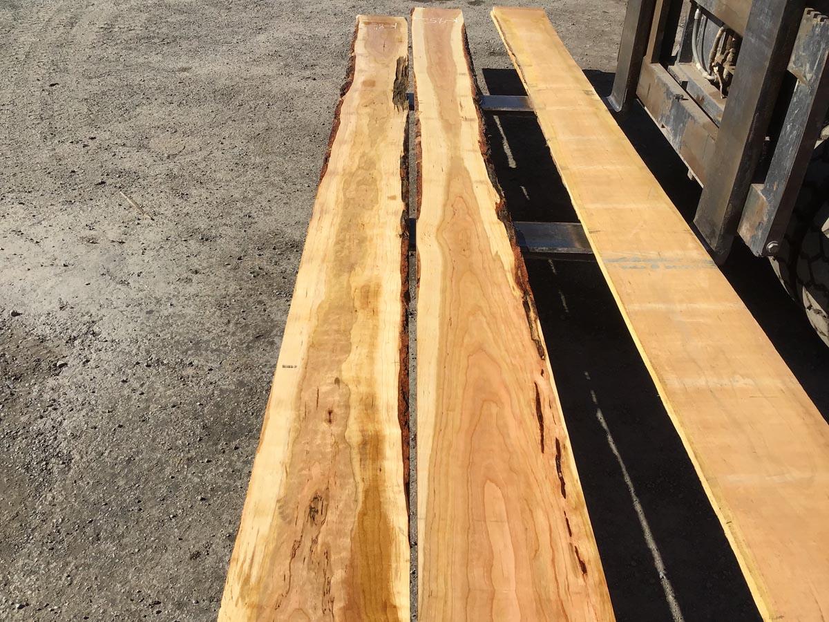 long calico cherry, wooden tops, hardwood tops