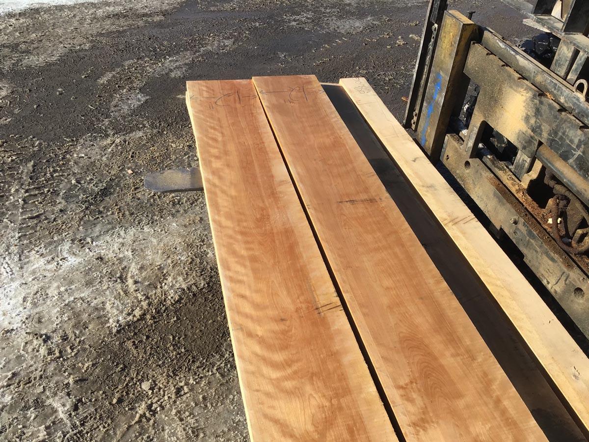 high quality lumber, premium lumber, curly birch