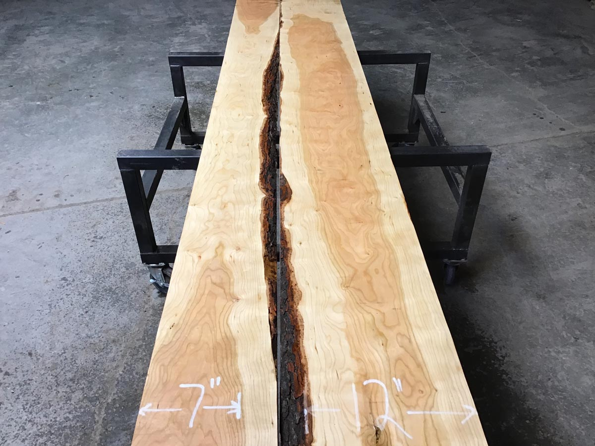 premium lumber, wooden tops, high quality calico cherry